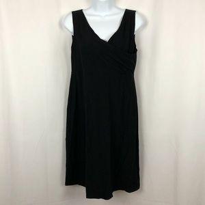 Eileen Fisher Linen blend knit sleeveless LBD SP